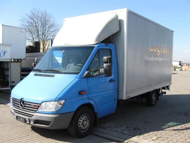mercedes benz sprinter 316 cdi 4 2m koffer lbw kein 313 closed box van from germany for sale. Black Bedroom Furniture Sets. Home Design Ideas