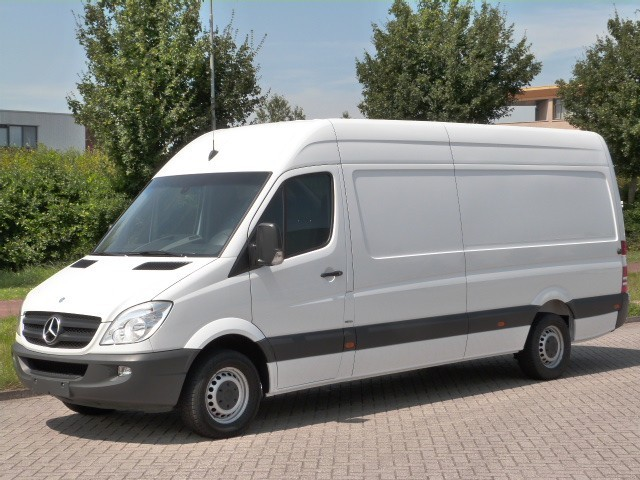 mercedes benz sprinter 316 cdi l3 h2 navi airco nr246 closed box van from netherlands for. Black Bedroom Furniture Sets. Home Design Ideas