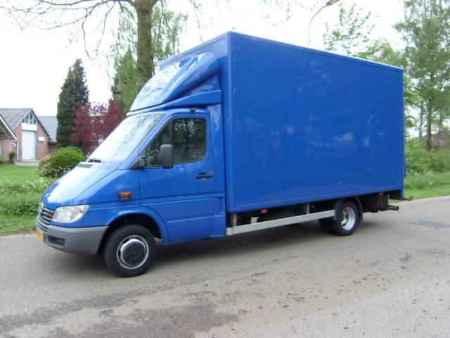 Mercedes benz sprinter 416 ladebordwand closed box van for Mercedes benz box truck