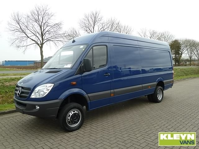 mercedes benz sprinter 519 cdi 4x4 closed box van from netherlands for sale at truck1 id 968506. Black Bedroom Furniture Sets. Home Design Ideas