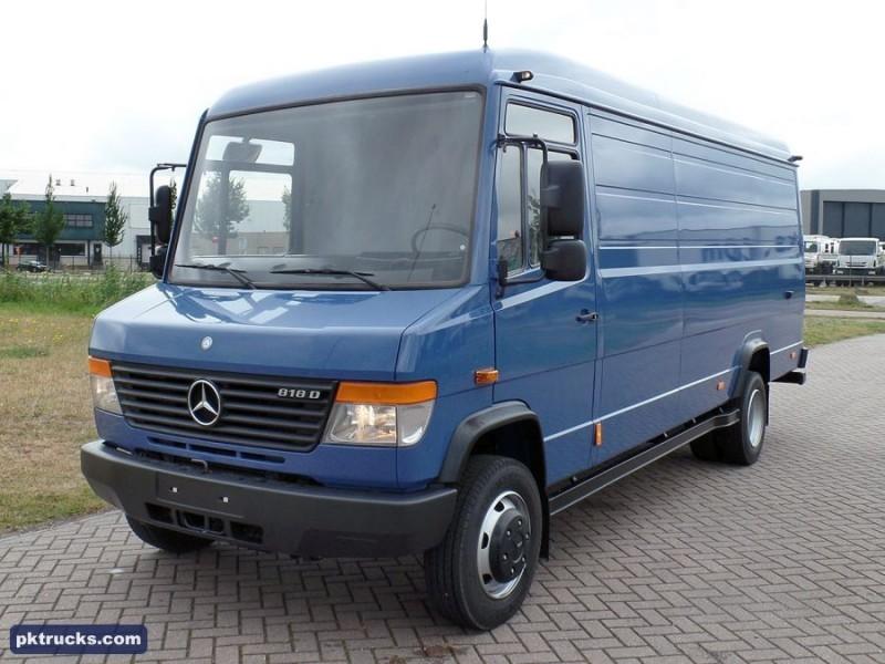 New mercedes benz vario 818 cdi closed box van for sale for Mercedes benz vario 4x4 for sale