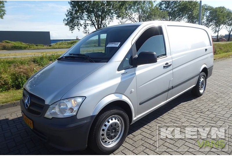 c95cb3751f Mercedes-Benz Vito 110 CDI l2 ac closed box van from Netherlands for ...
