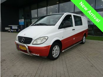 Mercedes-Benz Vito 111 Dubbele cabine  - closed box van