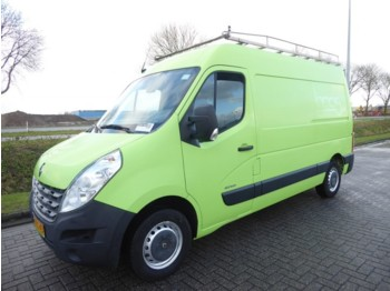 Closed box van Renault Master 2.3 DCI 125, L2H2, Groen