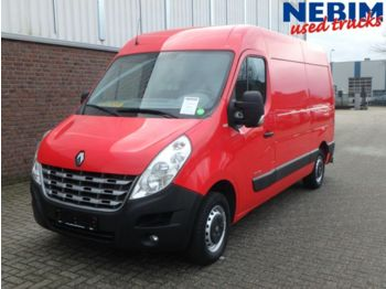 Closed box van Renault Master L2H2 125 4x2R Airco