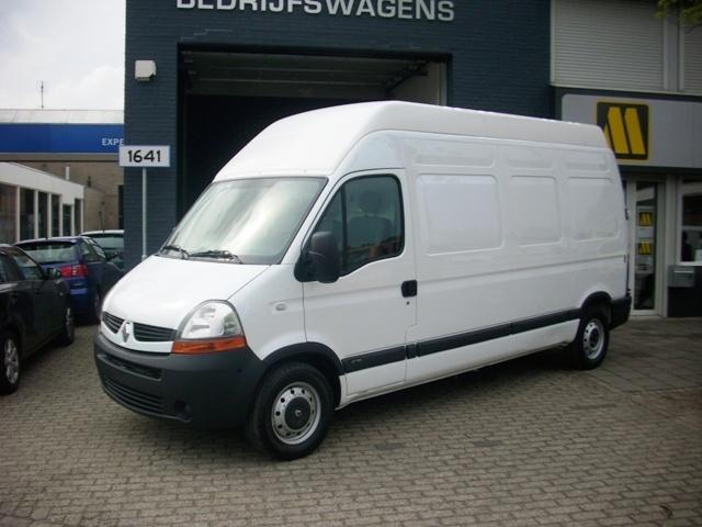 renault master t35 2 5 dci 120ps l3h3 maxi closed box van. Black Bedroom Furniture Sets. Home Design Ideas