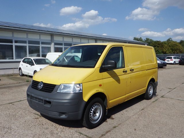 02ece16ab9 VW T5 1.9 TDI Transporter Kasten closed box van from Germany for ...