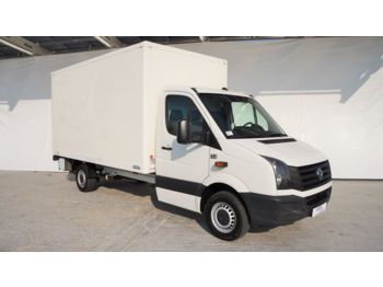 Closed box van Volkswagen Crafter 2.0TDI/105kw KOFFER 8 PAL/LBW /42000km!: picture 1