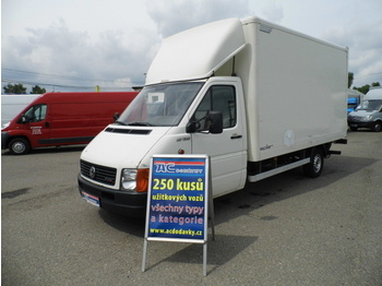 Closed box van Volkswagen LT 35 koffer Ladebordwand KLIMA: picture 1