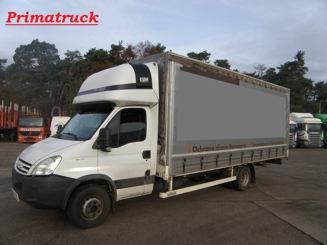 Iveco Daily 65 C18 Curtain Side Van From Czech Republic For Sale At Truck1 Id 1094163