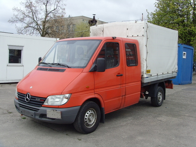 mercedes benz sprinter 308 cdi doka pritsche plane. Black Bedroom Furniture Sets. Home Design Ideas