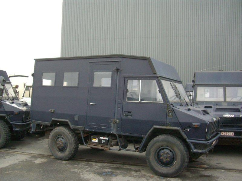 IVECO turbo daily POLICE delivery van from Belgium for ...