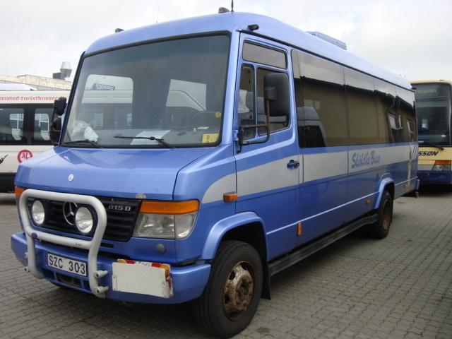 Mercedes Benz Vario 815 Delivery Van From Denmark For Sale