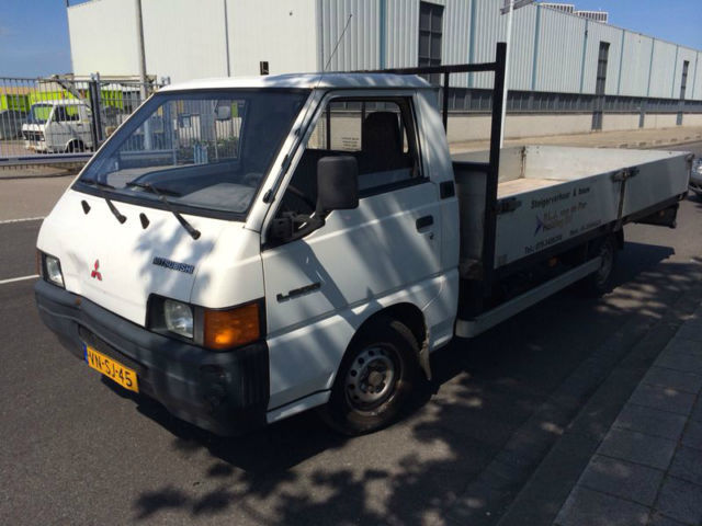 0876650cfafed2 Mitsubishi L300 PICK-UP LONG CHASSIS delivery van from Netherlands ...