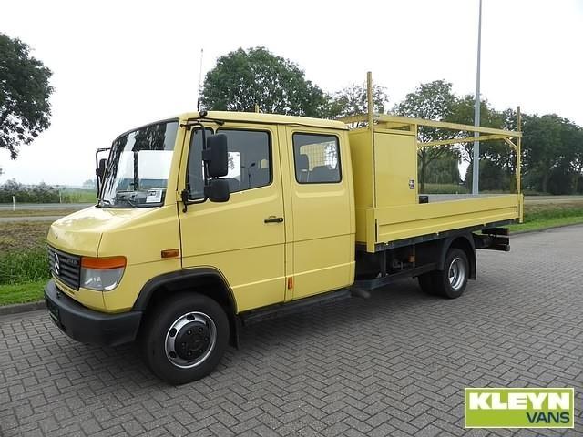 Mercedes Benz Vario 814 D Pudc Lwb Open Body Delivery Van