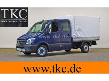 Open body delivery van Mercedes-Benz Sprinter 213 313 CDI Doka Pritsche KLIMA #78T450