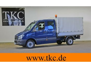 Open body delivery van Mercedes-Benz Sprinter 213 313 CDI Doka Pritsche KLIMA #79T015