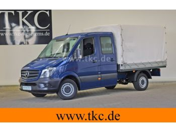 Mercedes-Benz Sprinter 213 313 Doka Pritsche KLIMA #78T206  - open body delivery van