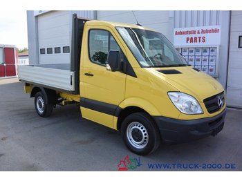 Open body delivery van Mercedes-Benz Sprinter 215 CDI 3 Sitzer Klima AHK 1.Hand