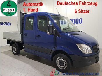 Open body delivery van Mercedes-Benz Sprinter 215 CDI Automatik 150 PS 6-Sitzer 48TKM