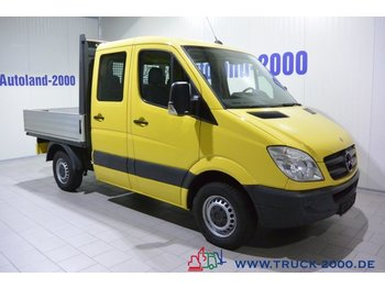 Open body delivery van Mercedes-Benz Sprinter 215 CDI DoKa 150 PS 6-Sitzer AHK Klima