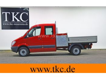 Open body delivery van Mercedes-Benz Sprinter 313 CDI/36 Doka Pritsche AHK 3,5#79T013