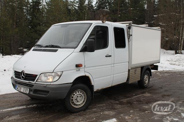 mercedes sprinter 316 cdi pickup 4x4 aut 156hk open body delivery van from sweden for sale at. Black Bedroom Furniture Sets. Home Design Ideas