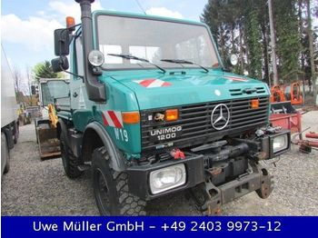 Unimog U 1200 / 424 Zugmaschine  - open body delivery van