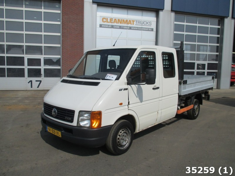 vw lt 28 pick up double cabine open body delivery van from. Black Bedroom Furniture Sets. Home Design Ideas