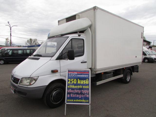 mercedes benz sprinter 616cdi koffer refrigerated delivery. Black Bedroom Furniture Sets. Home Design Ideas
