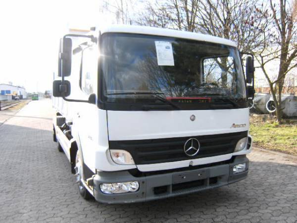 Mercedes benz atego 816 kipper euro 4 tipper delivery van for Mercedes benz training and education