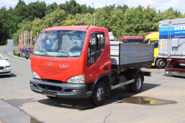 DAEWOO AVIA D75 K !!!98 843km!!! tipper van from Czech Republic for