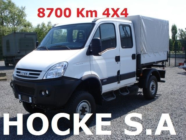 iveco daily 35s18dw 4x4 8700 km tipper van from belgium for sale at truck1 id 1397412. Black Bedroom Furniture Sets. Home Design Ideas