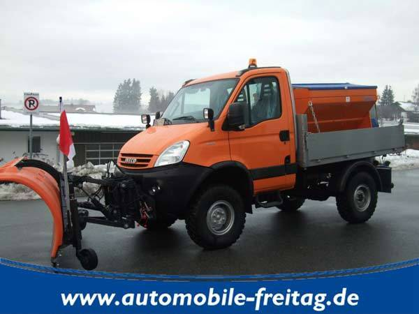 iveco daily 4x4 55s18w winterdienst 3 seiten kipper tipper van from germany for sale at. Black Bedroom Furniture Sets. Home Design Ideas