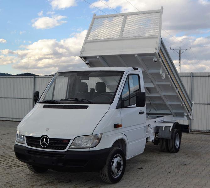 a49ece0337 Mercedes-Benz Sprinter 411 Cdi 3-Seiten Kipper Top Zustand! tipper ...