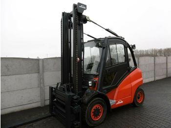 4 tekerlikli denge ağırlıklı forklift Linde H45D