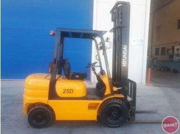Forklift HYUNDAI HDF25II: fotoğraf 1