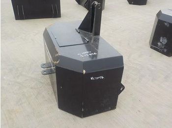 Unused Empty Front Counter Weight to suit 3 Point Linkage - kontra teg