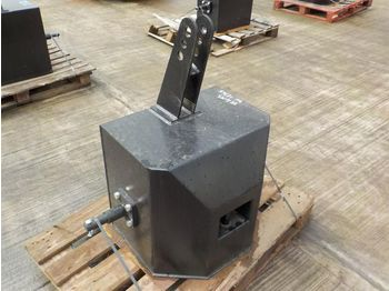 Unused Front Weight Pack to suit 3 Point Linkage - kontra teg