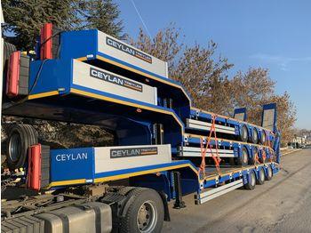 Alçak çerçeveli platform dorse CEYLAN 3 AXLES 2019