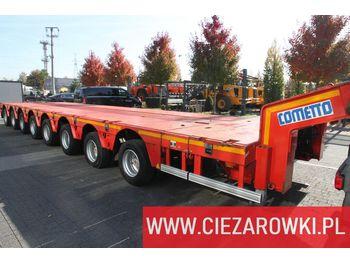 FAYMONVILLE max 18,5m - 3,5m / 8-steering axles / 105 tons / 8 lift axles - alçak çerçeveli platform dorse