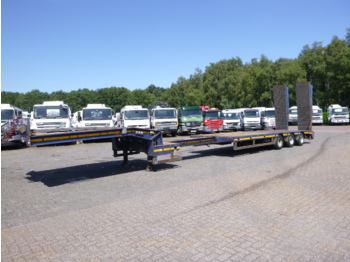 Alçak çerçeveli platform dorse Faymonville 3-axle semi-lowbed trailer 60 t / extendable 12.2 m + Ramps and Winch