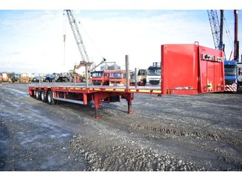 Alçak çerçeveli platform dorse Goldhofer SPN-L3-31/80 / Mega Tieflader/Containerverr /TüV