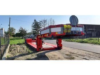 KASSBOHRER Tiefbett - alçak çerçeveli platform dorse