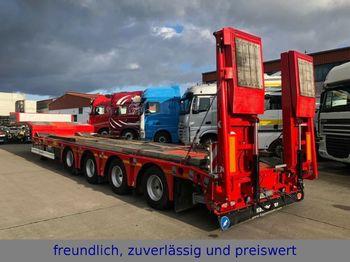 Kässbohrer  LB4E * LENK/LIFTACHSE * SAF* AUSZIEHBAR *  - alçak çerçeveli platform dorse