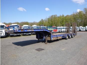 Alçak çerçeveli platform dorse King 3-axle semi-lowbed trailer 9 m / 32 t + ramps