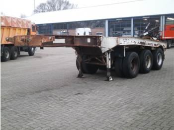 Traylona 3-axle dolly trailer / 62000 kg - alçak çerçeveli platform dorse