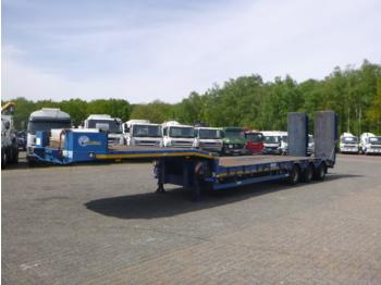 Alçak çerçeveli platform dorse Verem 3-axle semi-lowbed trailer 39 t / 9.1 m + ramps