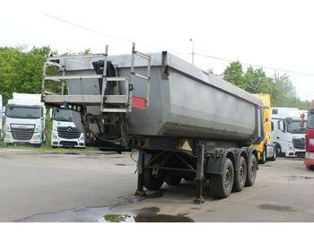Schmitz Cargobull SKI 24 SL06 - 7,2 HARDOX, LIFTING AXLE, 25m3  - damperli dorse