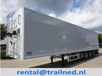 Knapen Trailers K200 - 92m3 Liftaxle GMP - kayar zemin dorse